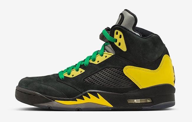 Air Jordan 5 Duckman Oregon Ducks