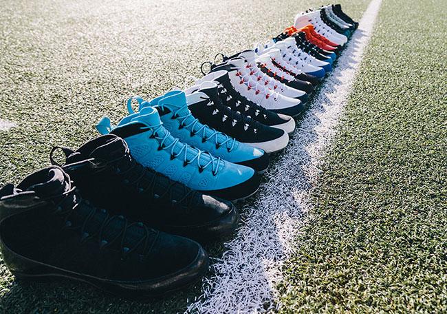 Air Jordan 9 Football Cleats