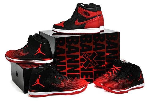 Air Jordan Banned Box Set