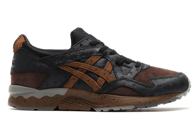 asics brown