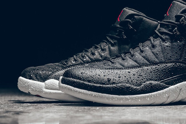Black Nylon Air Jordan 12 Retro