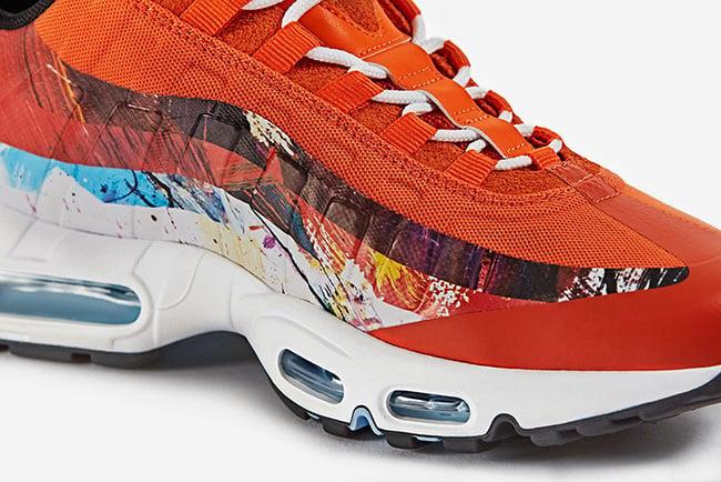 Dave White size Nike Air Max 95 Albion