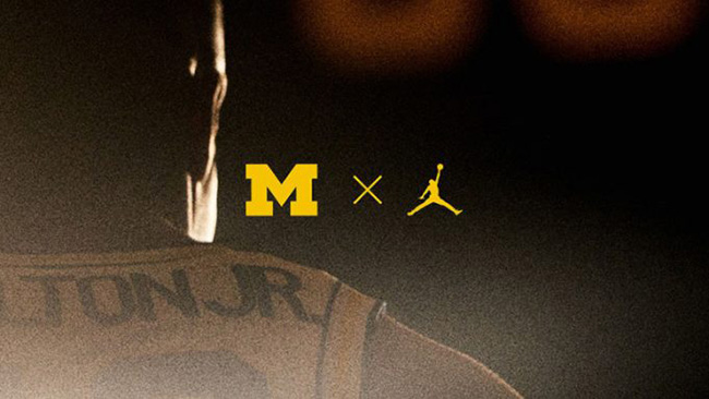 new concept 141d0 dda0f DJ Khaled Michigan Jordan Basketball Uniforms
