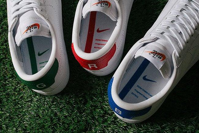 fragment design x Nike Zoom Tennis Classic RGB Pack
