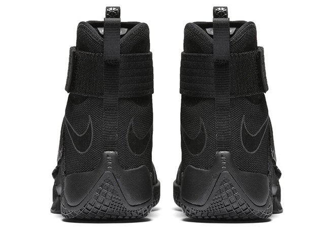 LeBron Soldier 10 Black Space