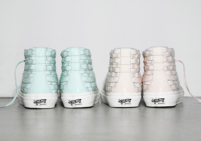 Naked Vans SK8-Hi Pastel Pack