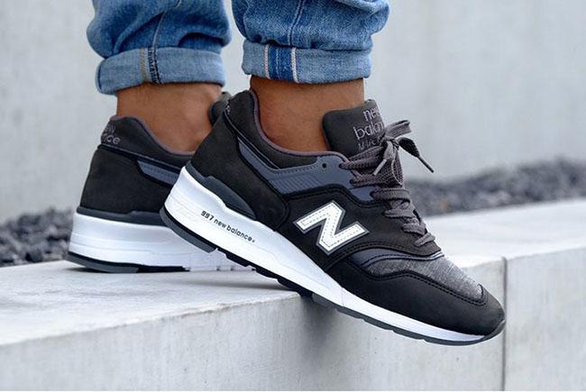 New Balance 997 Charcoal