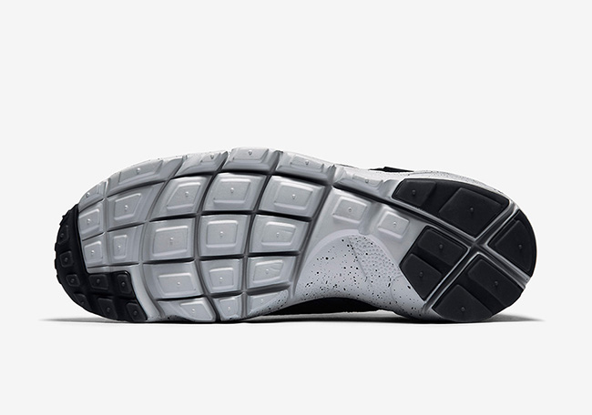 Nike Air Footscape Motion Black Grey Red