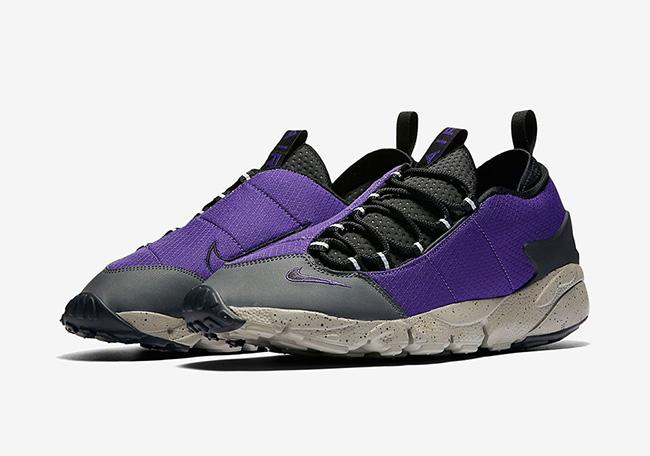 Nike Air Footscape Motion Court Purple Black