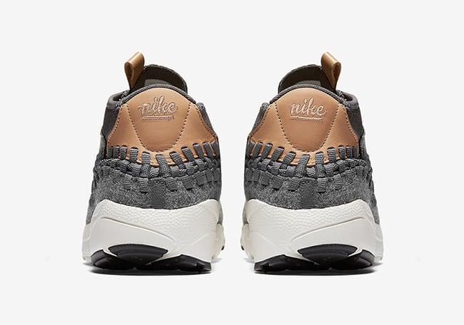 Nike Air Footscape Woven Chukka SE Wool Dark Grey Vachetta Tan