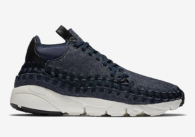 buy online cb78a c7e23 Nike Air Footscape Woven Chukka SE Wool Obsidian