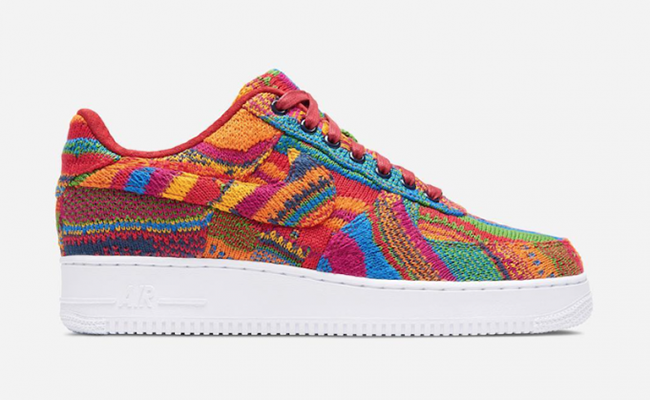 new style 3f3a5 ae157 ... Nike Air Force 1 Low Bespoke Coogi ...