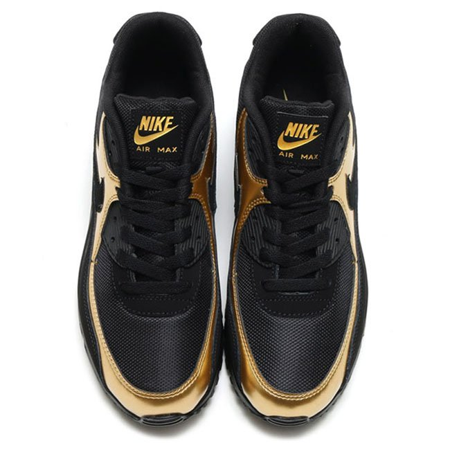 best loved cc8a7 6e644 nike air max 90 black and gold