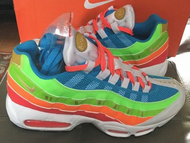 huge discount bbbad 317cc Nike Air Max 95 Doernbecher Sample