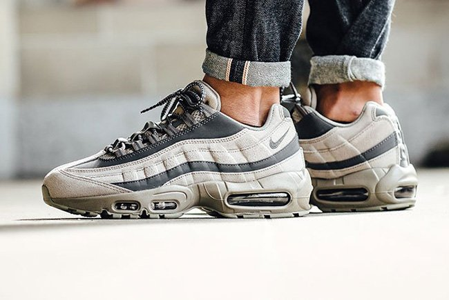 air max 95 essential brown and white