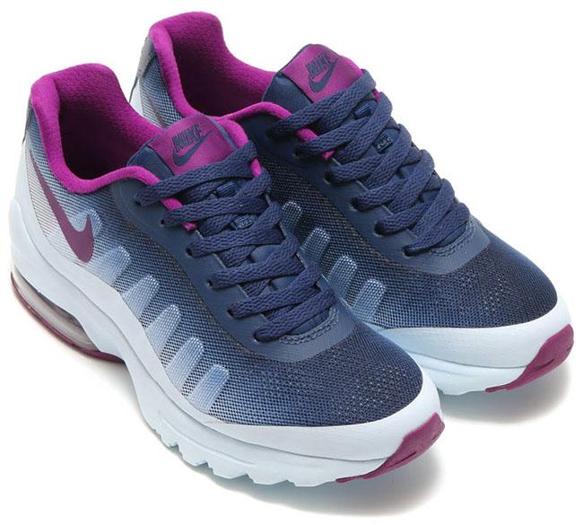 Nike Air Max Invigor Print Womens Blue Tint Bright Grape Navy