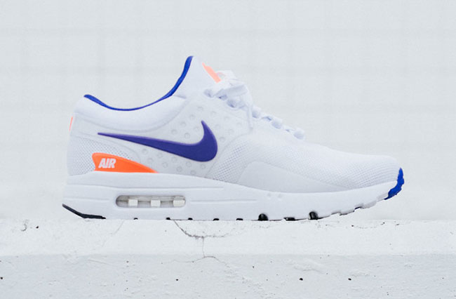 Nike Air Max Zero Qs Shoes – White/Ultramarine