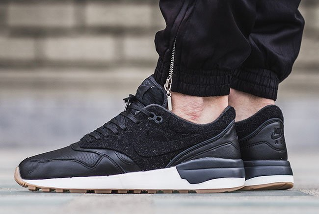Nike Air Odyssey LX Black Leather Wool