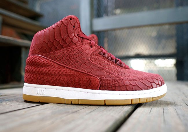 size 40 05dc3 796cf Nike Air Python Premium Red Snakeskin Gum