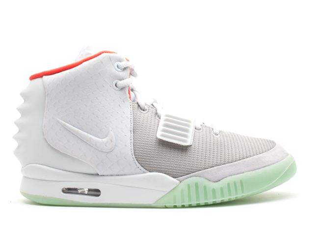 Nike Air Yeezy 2 NRG Pure Platinum Wolf Grey