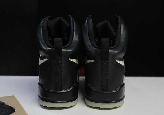 Nike Air Yeezy Black Glow Sample