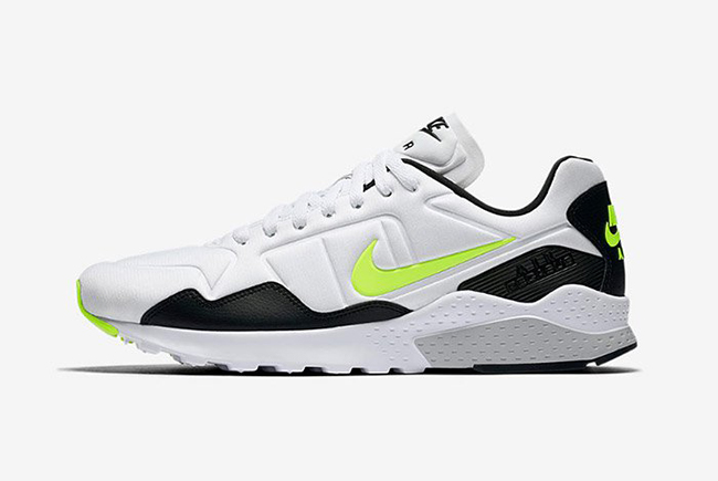 Nike Air Zoom Pegasus 92 White Black Volt