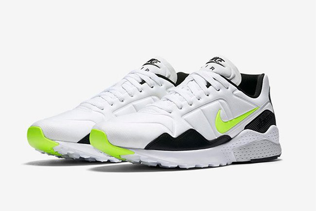 hot sale online 1fc76 20d9c Nike Air Zoom Pegasus 92 White Black Volt | SneakerFiles