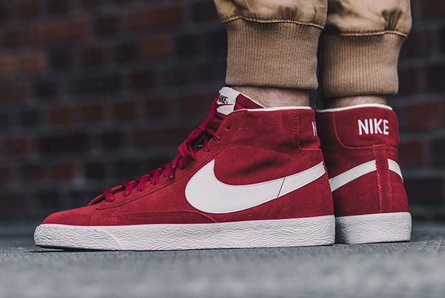 Nike Blazer Mid Premium Team Red