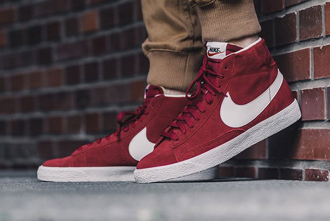 low priced 7437e 6f8b4 Nike Blazer Mid Premium Team Red | SneakerFiles