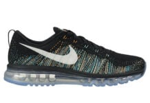 Nike Flyknit Air Max Summit Black White Blue Glow Citrus Green Glow