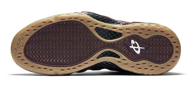 Nike Foamposite Maroon Gum Release Date