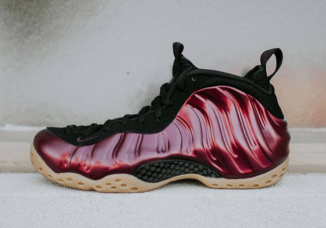 Nike Foamposite One Night Maroon October
