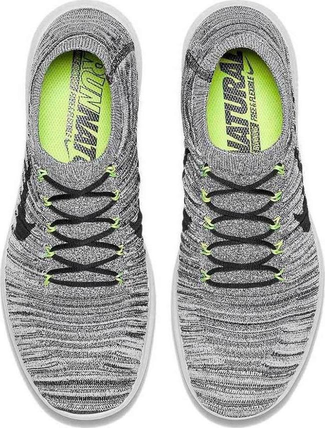 89faf2cd617d Nike Free RN Motion Flyknit Off White Volt Black