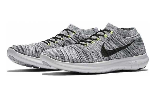 Nike Free RN Motion Flyknit Off White Volt Black  65dca755d
