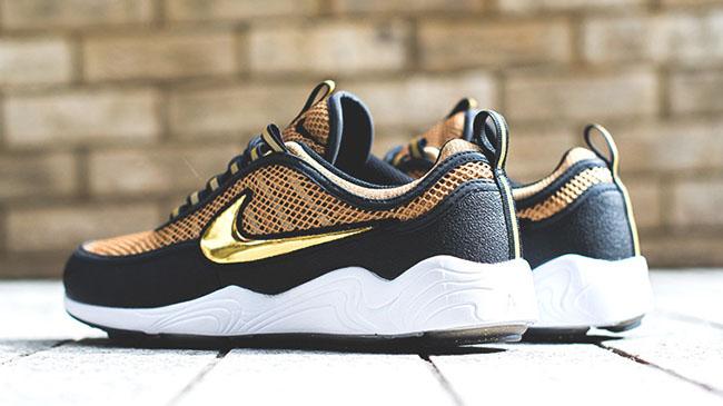 Nike Golden Shine Spiridon Talaria Black Gold