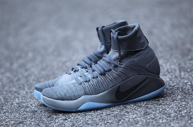 Nike Hyperdunk 2016 Flyknit October 2016 Dark Grey