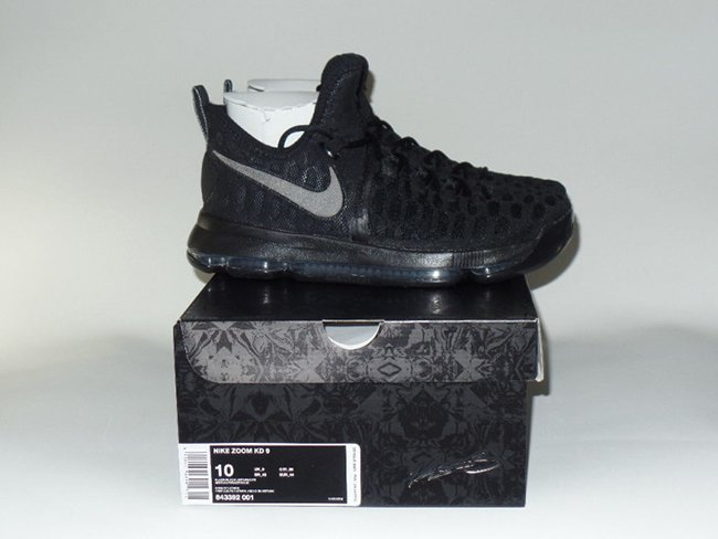 competitive price d4232 f582b Nike KD 9 Black Space. Nike Zoom ...
