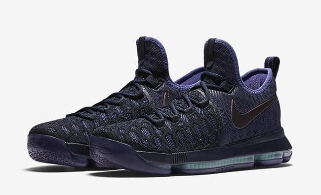 Nike KD 9 Dark Purple Dust Release Date 8ba27303eb70