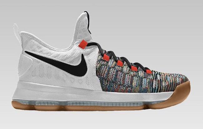 Nike KD 9 NikeID Multicolor