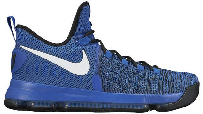 Nike KD 9 On Court Blue White Black