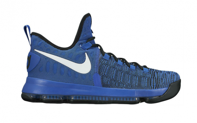 Nike KD 9 On Court Blue White Black