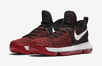 Nike KD 9 University Red Hard Work