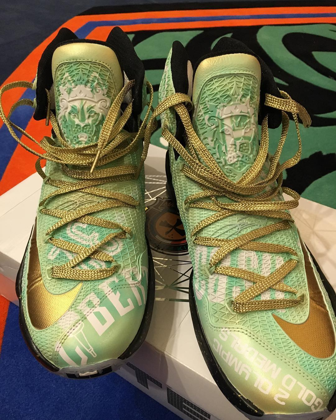 Nike LeBron 13 Elite Swin Cash Retirement Custom