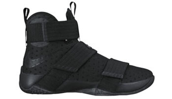 Nike LeBron Soldier 10 Black Space