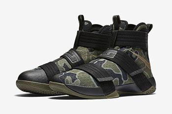 Nike LeBron Soldier 10 Camo