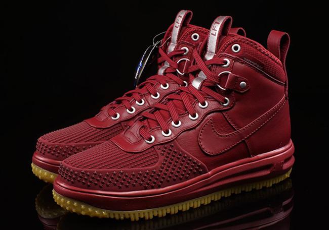 Nike Lunar Force 1 Duckboot Team Red Gum