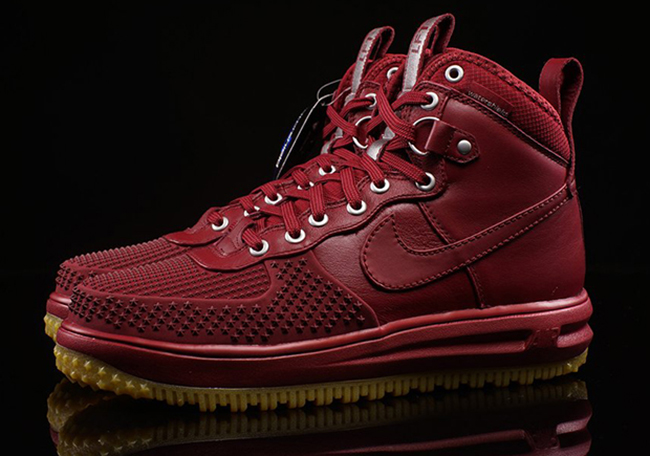 check out 24262 dd911 Nike Lunar Force 1 Duckboot Team Red Gum
