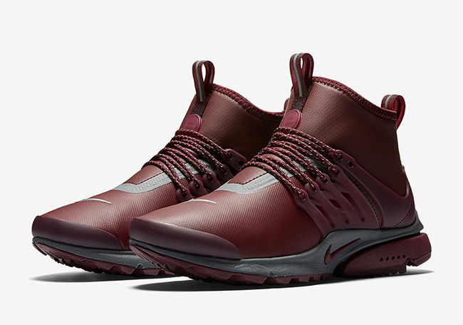 Nike Air Presto Mid Utility Night Maroon