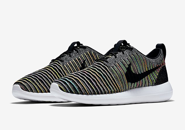 new style 814fe aa5ce Nike Roshe Two Flyknit Multicolor