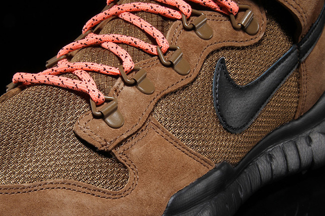 Nike SB Dunk High Boot Military Brown